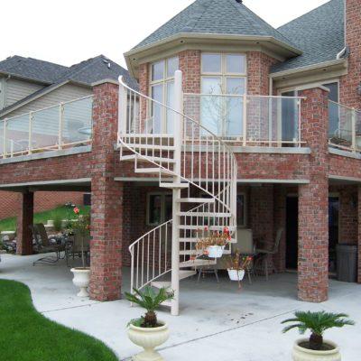 Brick Balconies